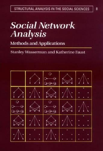 9780521382694: Social Network Analysis: Methods and Applications (Structural Analysis in the Social Sciences)