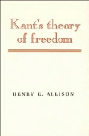 9780521382700: Kant's Theory of Freedom