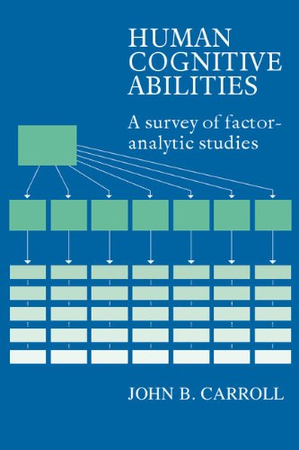 9780521382755: Human Cognitive Abilities: A Survey of Factor-Analytic Studies