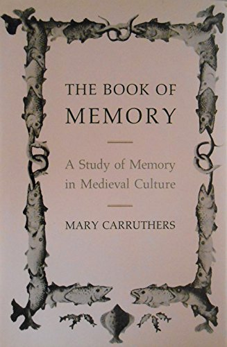 9780521382823: The Book of Memory: A Study of Memory in Medieval Culture (Cambridge Studies in Medieval Literature)