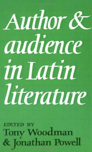 9780521383073: Author and Audience in Latin Literature