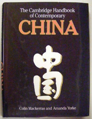 9780521383424: The Cambridge Handbook of Contemporary China