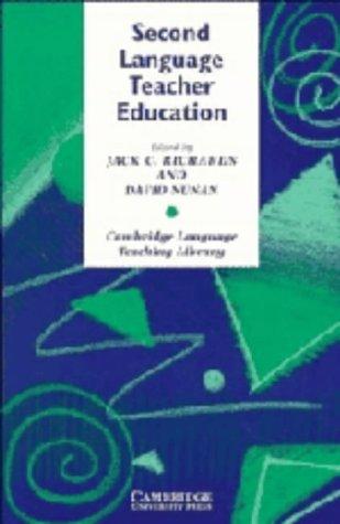 9780521383844: Second Language Teacher Education (Cambridge Language Teaching Library)