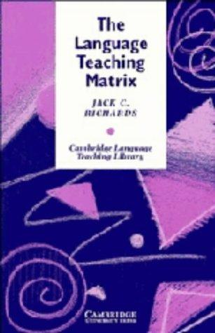 9780521384087: The Language Teaching Matrix (Cambridge Language Teaching Library)
