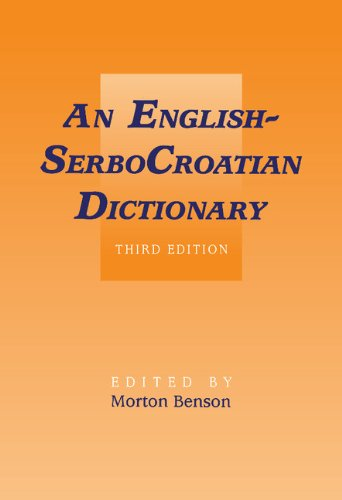 9780521384964: SerboCroatian-English Dictionary 2 Volume Set: English-SerboCroatian Dictionary