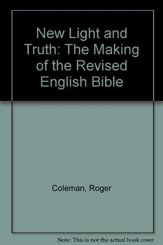 9780521384971: New Light and Truth: The Making of the Revised English Bible