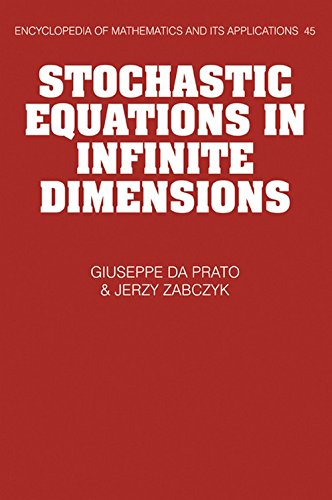 9780521385299: Stochastic Equations in Infinite Dimensions Hardback (Encyclopedia of Mathematics and its Applications)
