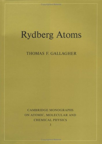 9780521385312: Rydberg Atoms (Cambridge Monographs on Atomic, Molecular and Chemical Physics)