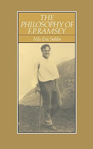 The Philosophy of F. P. Ramsey: Nils-Eric Sahlin