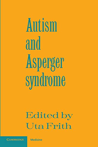 9780521386081: Autism and Asperger Syndrome