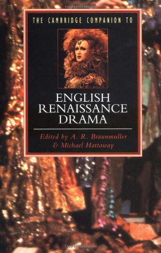 9780521386623: The Cambridge Companion to English Renaissance Drama (Cambridge Companions to Literature)