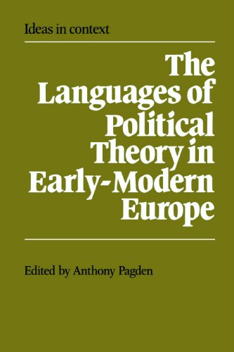 9780521386661: The Languages of Political Theory in Early-Modern Europe