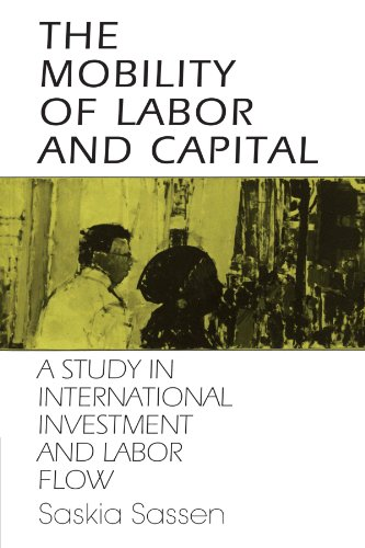 9780521386722: The Mobility of Labor and Capital: A Study in International Investment and Labor Flow