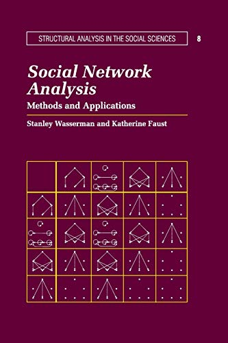 9780521387071: Social Network Analysis Paperback: Methods and Applications (Structural Analysis in the Social Sciences)