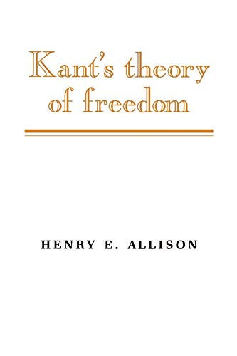 9780521387088: Kant's Theory of Freedom