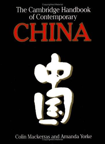 9780521387552: The Cambridge Handbook of Contemporary China