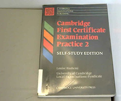 Cambridge First Certificate Examination Practice 2 Self-study