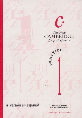 9780521387637: The New Cambridge English Course 1 Practice book Spanish edition: Practice Bk Level 1