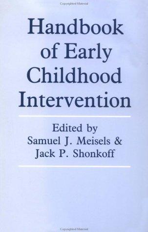 9780521387774: Handbook of Early Childhood Intervention