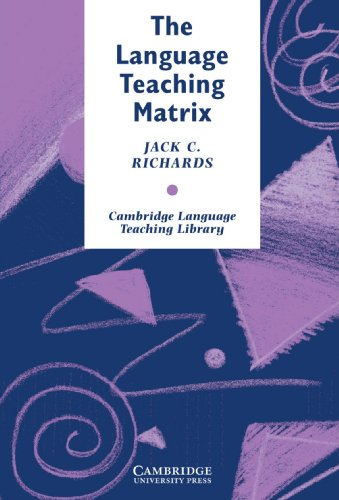 9780521387941: The Language Teaching Matrix (Cambridge Language Teaching Library)