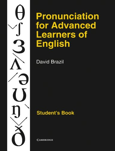 9780521387989: Pronunciation for Advanced Learners of English Student's book