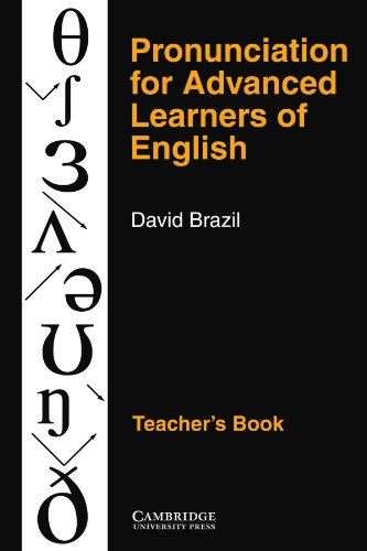 9780521387996: Pronunciation for Advanced Learners of English Teacher's book