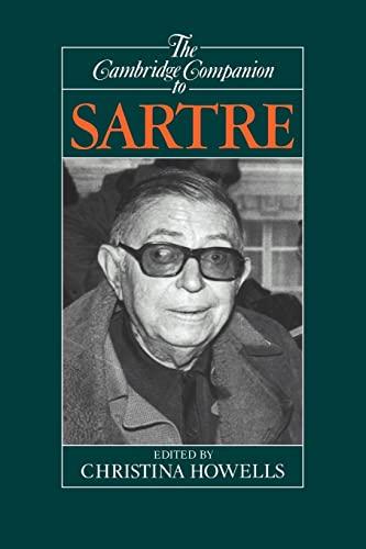 9780521388122: The Cambridge Companion to Sartre (Cambridge Companions to Philosophy)