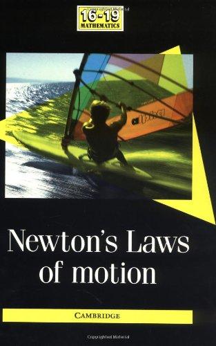 9780521388450: Newton's Laws of Motion (School Mathematics Project 16-19)
