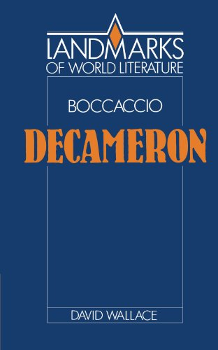 9780521388511: Boccaccio: Decameron (Landmarks of World Literature)