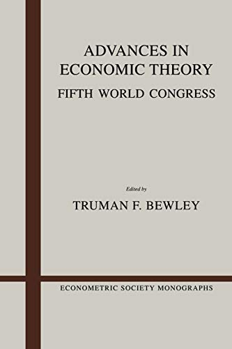 9780521389259: Advances in Economic Theory: Fifth World Congress (Econometric Society Monographs)