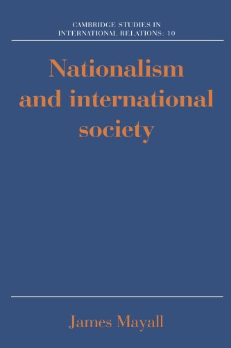 9780521389617: Nationalism and International Society (Cambridge Studies in International Relations)