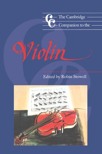 9780521390330: The Cambridge Companion to the Violin (Cambridge Companions to Music)