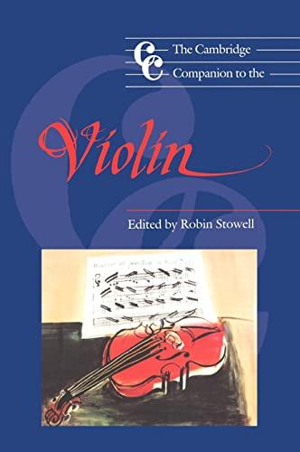 9780521390330: The Cambridge Companion to the Violin