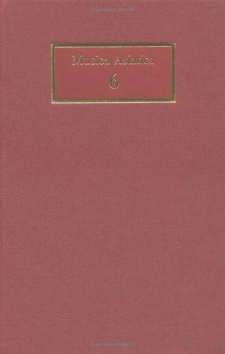 9780521390507: Musica Asiatica: Volume 6: v. 6