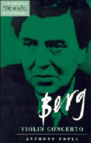 9780521390668: Berg: Violin Concerto (Cambridge Music Handbooks)