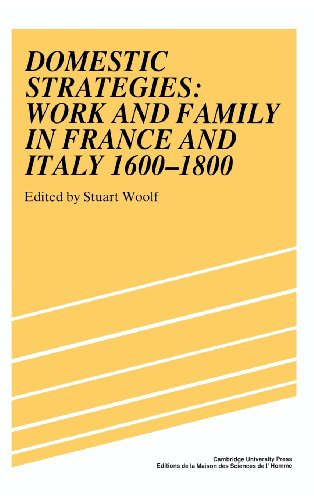 9780521391641: Domestic Strategies: Work and Family in France and Italy, 1600-1800 (Studies in Modern Capitalism)