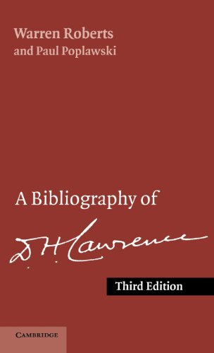 9780521391825: A Bibliography of D. H. Lawrence