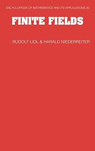 9780521392310: Finite Fields