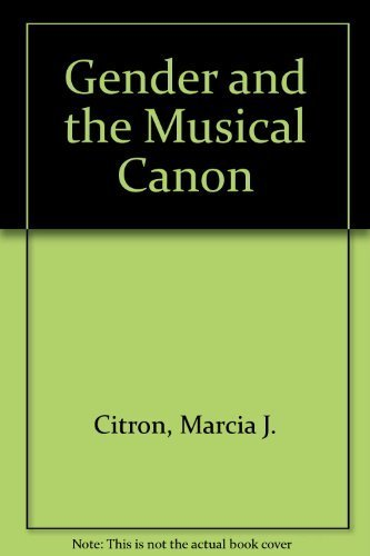 9780521392921: Gender and the Musical Canon