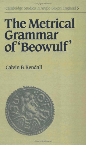 9780521393256: The Metrical Grammar of Beowulf (Cambridge Studies in Anglo-Saxon England)