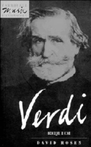 9780521394482: Verdi: Requiem (Cambridge Music Handbooks)