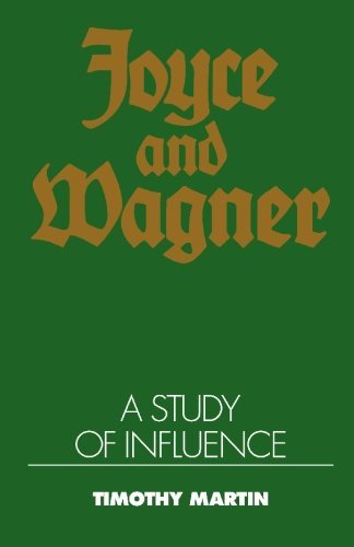 9780521394871: Joyce and Wagner: A Study of Influence