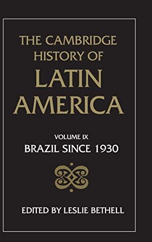 9780521395243: The Cambridge History of Latin America (Volume 9)