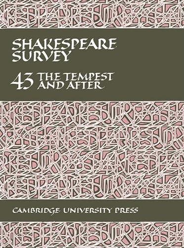 9780521395298: 043: Shakespeare Survey 43