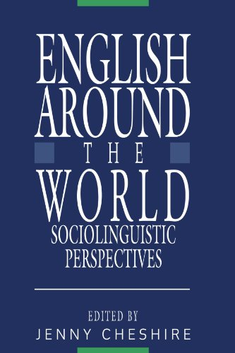 9780521395656: English around the World: Sociolinguistic Perspectives