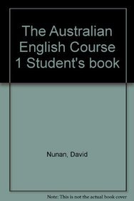 9780521395953: The Australian English Course 1 Student's book