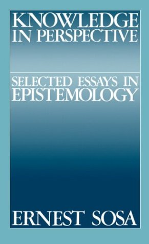 9780521396431: Knowledge in Perspective: Selected Essays in Epistemology (Cambridge Studies in Philosophy)