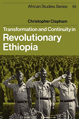 9780521396509: Transformation and Continuity in Revolutionary Ethiopia (African Studies)