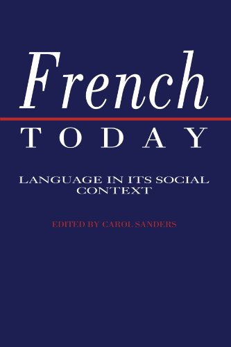 9780521396950: French Today Paperback: Language in Its Social Context
