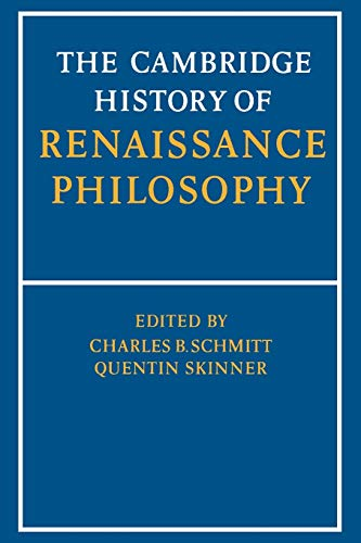 9780521397483: The Cambridge History of Renaissance Philosophy Paperback
